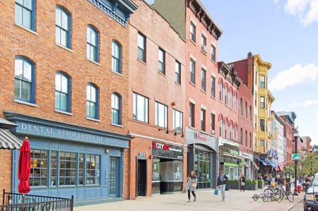 A 39-property portfolio located mostly along Hoboken's Washington Street has traded hands for more than $200 million.