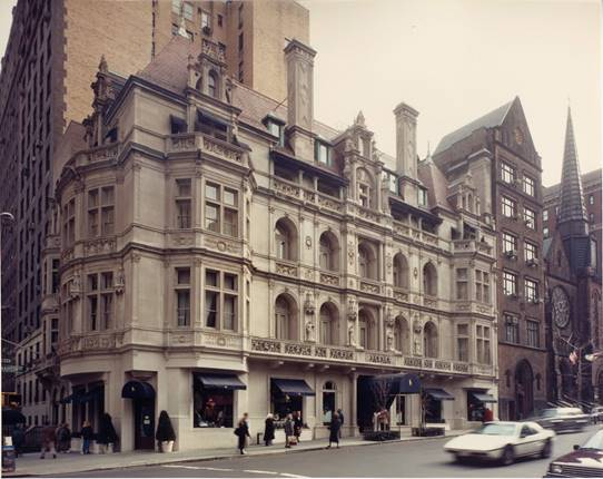 In 1986, EW Howell completed a historical restoration of the Rhinelander Mansion into the Polo flagship store, at 867 Madison Avenue in Manhattan.