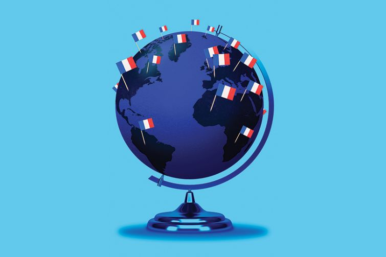 Natixis is planting flags all over the globe.