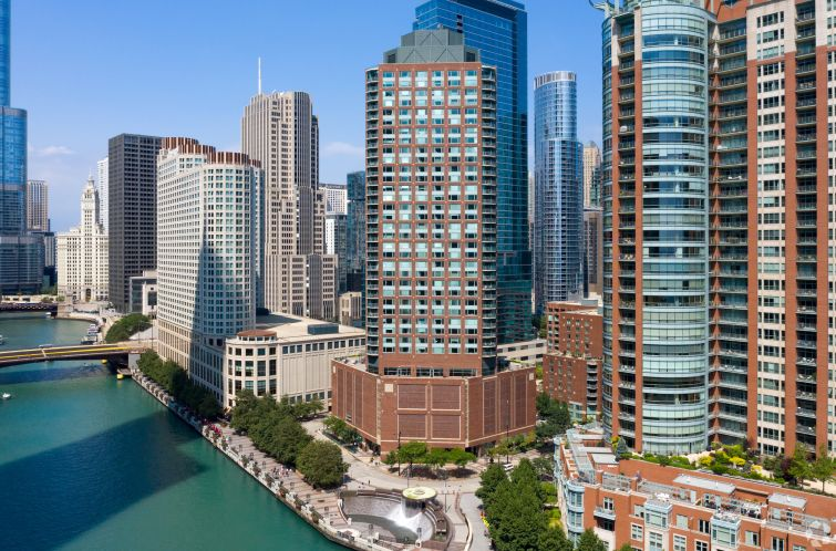 Cityfront Place at 400 North McClurg Court in Chicago.