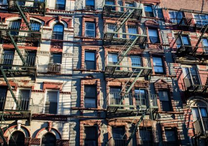 nyc apartment buildings in chinatown