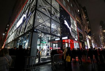 The Puma Store at 609 Fifth Avenue.