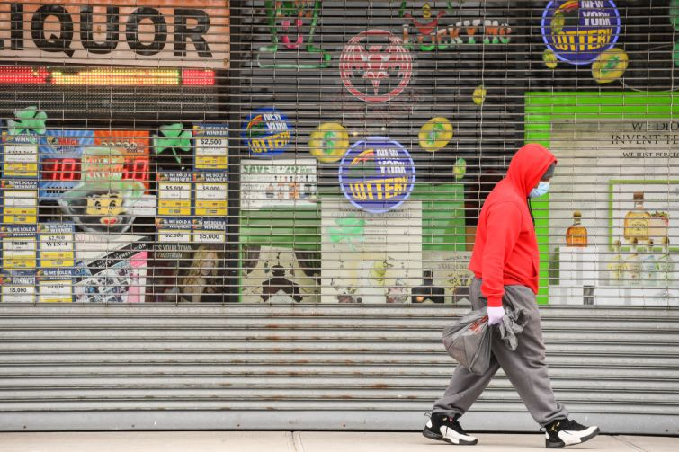 Small businesses are closed during the coronavirus pandemic.