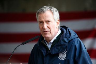 bill de blasio coronavirus briefing