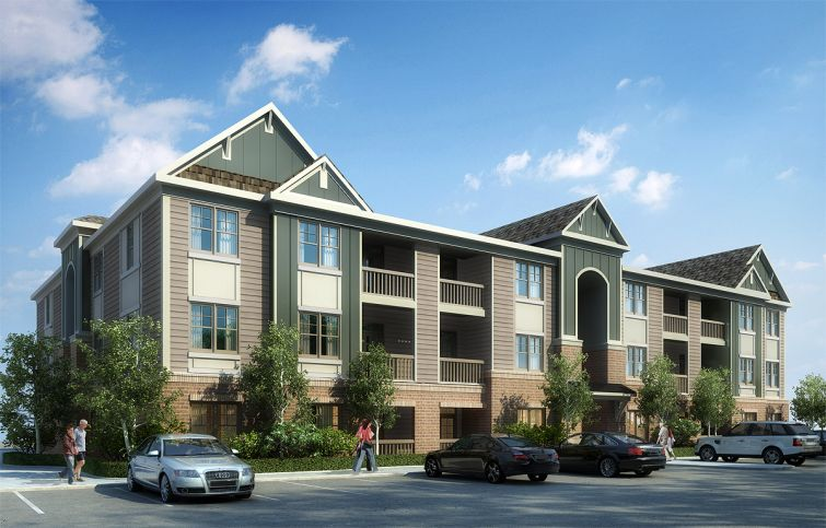 A rendering of Litchford 315 in North Raleigh.