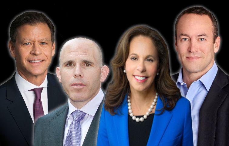 Ric Clark, Scott Rechler, Leslie Wohlman Himmel, Dean Shapiro.