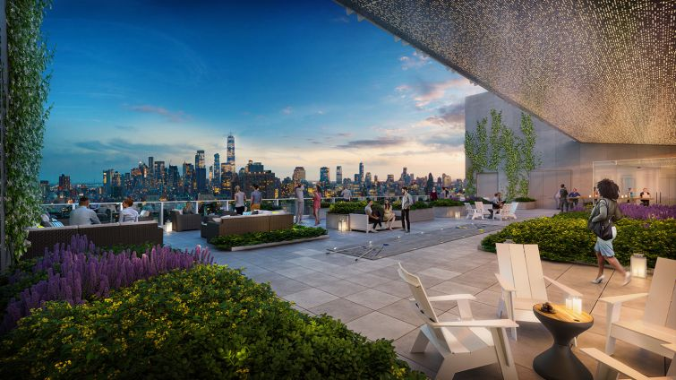 zero irving roof deck