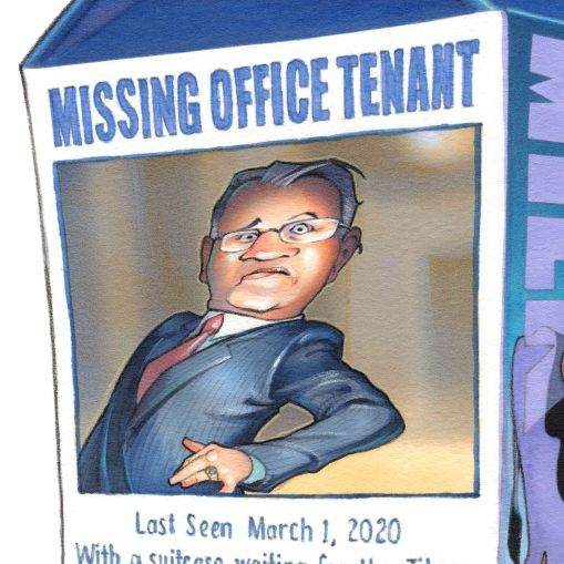 Missing Office Tenant
