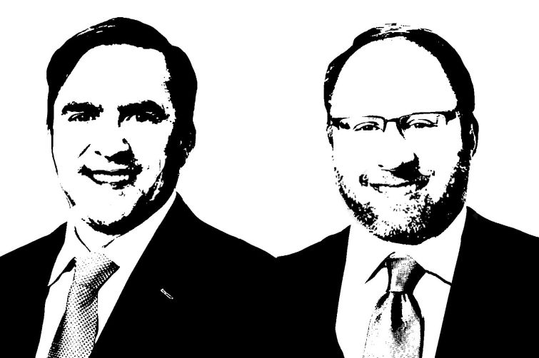 Trimont Real Estate Advisors' Robert Brasfield (left) and Mitchell Hunter.
