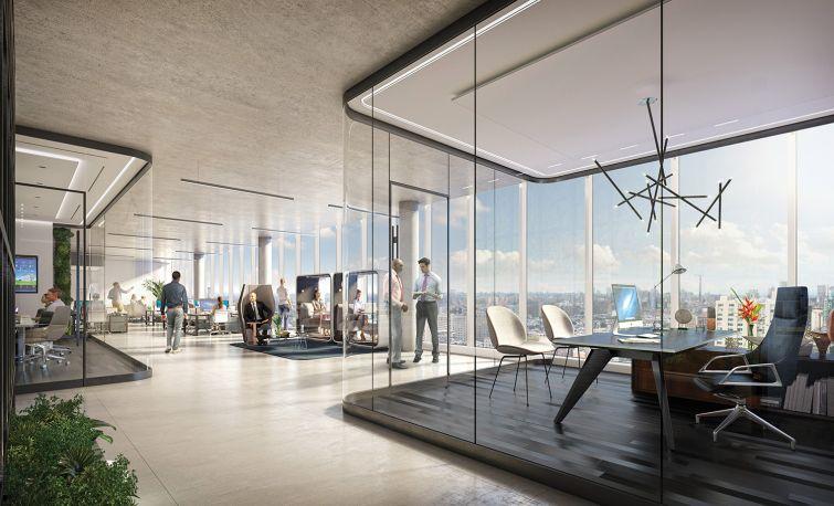 zero irving office floors