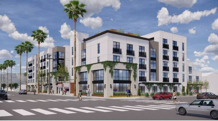 Rendering of the property set for 4900 Eagle Rock Boulevard