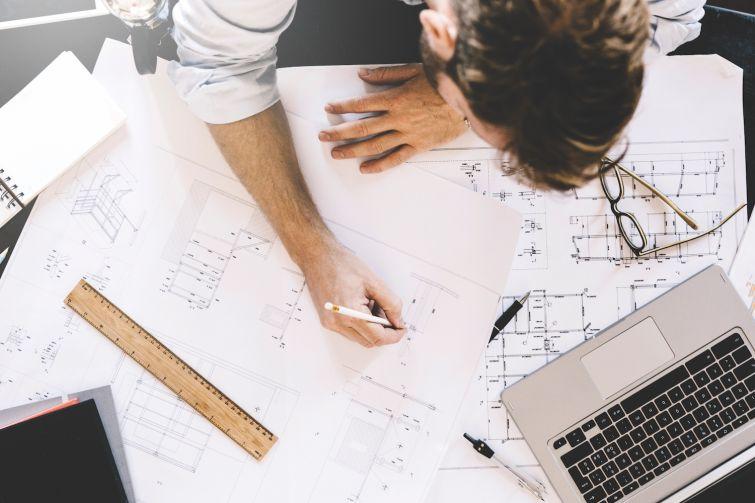 architect drawing board