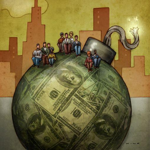 Retail's Debt Bomb