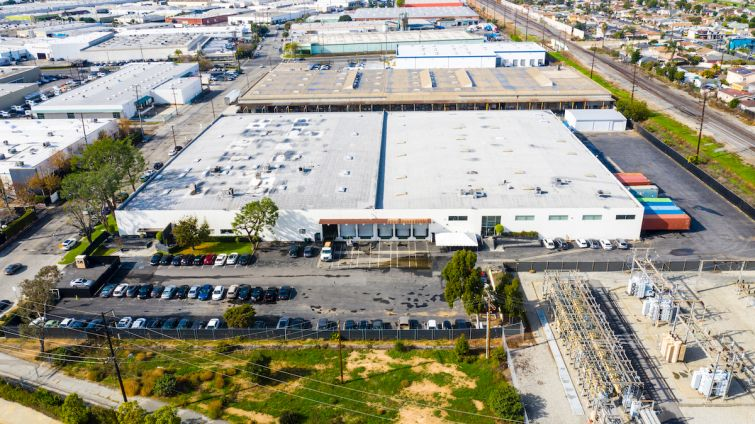 The manufacturing property sits on a 5.1-acre lot in the city of Commerce, about seven miles east of Downtown L.A.