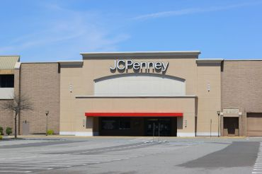 A closed JCPenney department store in New Jersey.