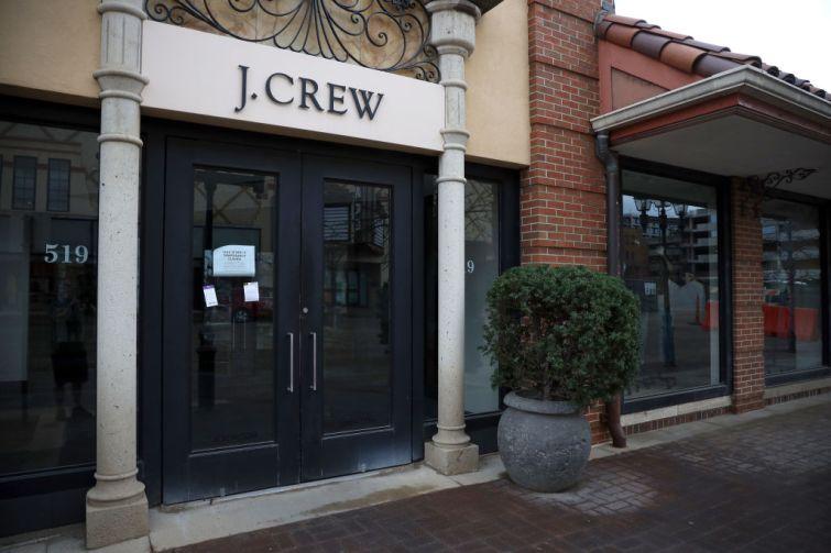 A J.Crew store.