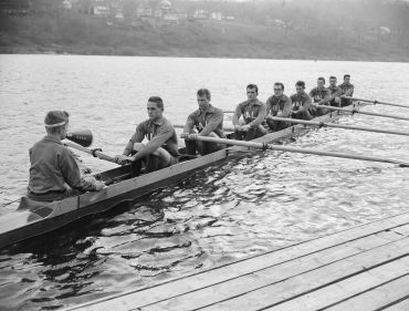 The 1949 Yale Rowing Team