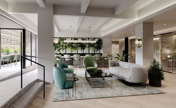 529 5th Ave Interior no people 529 Fifth Avenue Gets a Fresh Look in Midtown