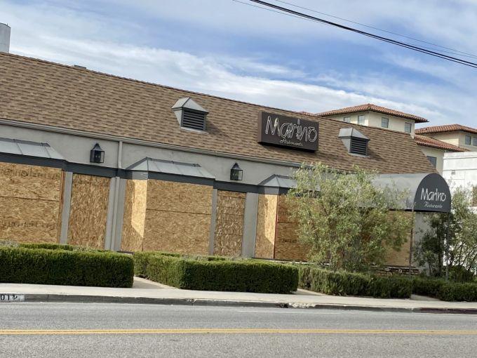 Mariano restaurant at 6001 Melrose Avenue.