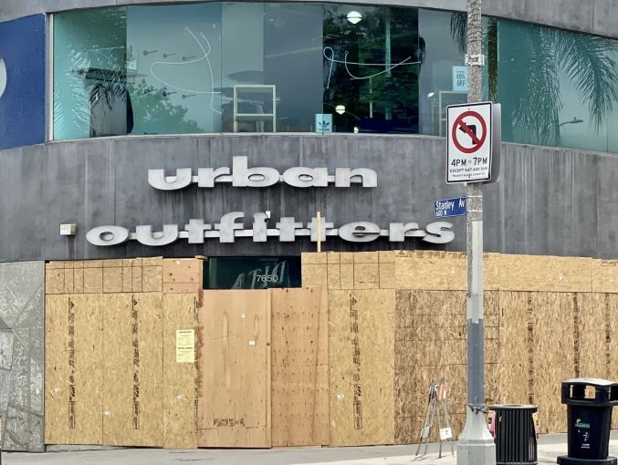 Urban Outfitters at 7650 Melrose Avenue