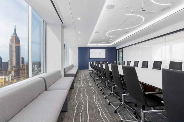 Another view of the main boardroom.