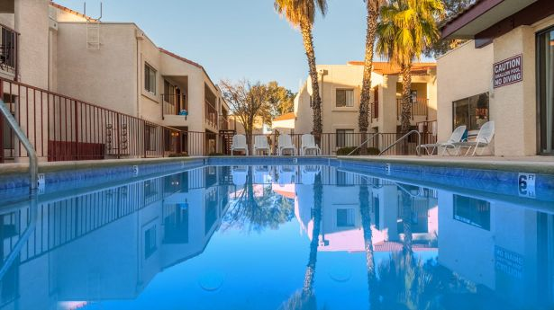 Canyon Creek apartments in Tucson.
