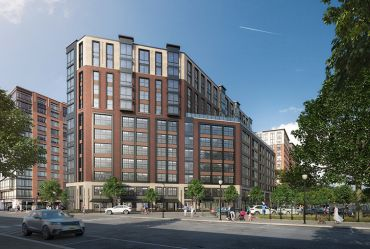 The Offices at Maxwell Place Adds 110,000 SF of Class A, Loft-Style Office Space to Toll Brothers' High-End Residential and Retail Neighborhood on the Hoboken Waterfront