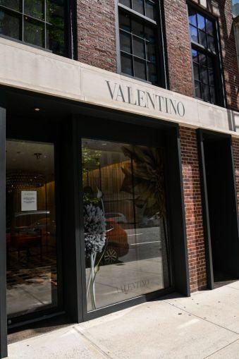 Valentino at 693 Fifth Avenue.
