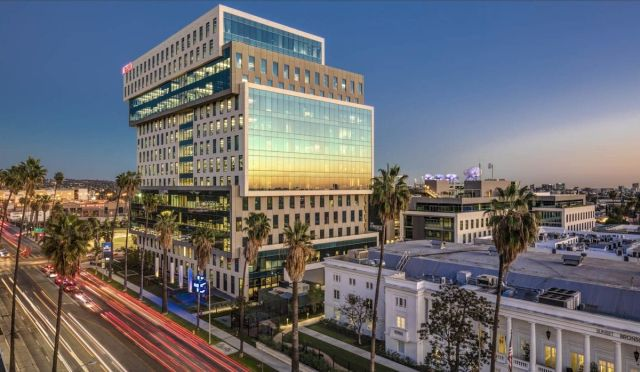 The portfolio includes the ICON building, which is leased to Netflix, at Sunset Bronson Studios in the heart of Hollywood.