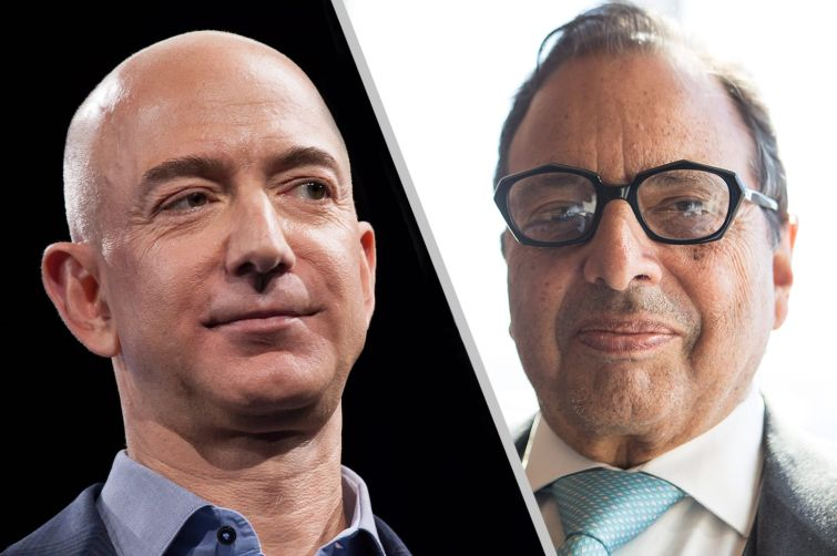 Jeff Bezos is locked in legal battle with Douglas Durst's Durst Org.