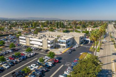 The 63,000-square-foot Magan Medical Clinic sits on five acres in Covina.