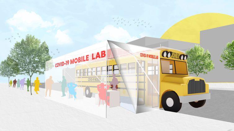 school bus mobile lab