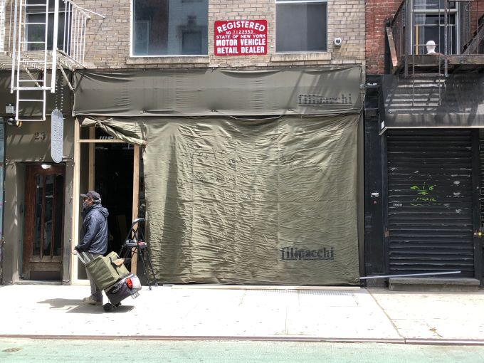 Filipacchi Motorsports in Soho was looted during the May 31 George Floyd protests.