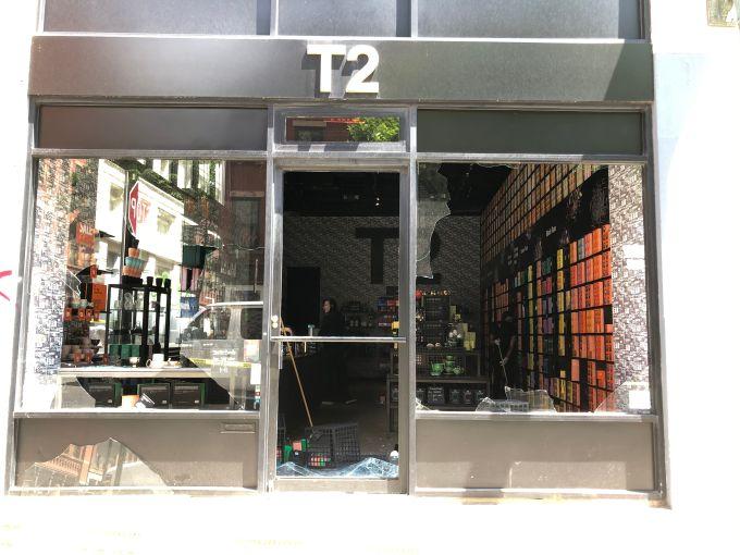 T2 tea store soho