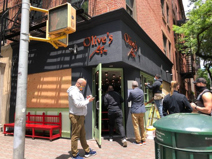 Longtime takeout spot Olive's on Prince Street had its delivery bikes and cash register stolen during the early morning hours of June 1, during the looting following the protests against George Floyd's death.