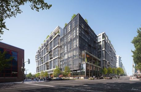 Rendering of 5 M Street SW project