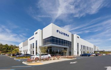 The property, called Vector, is fully leased to two tenants — Fluidra and ShipCalm — and it spans more than 169,800 square feet.