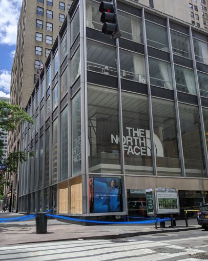 North Face at 510 Fifth Avenue.