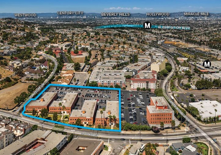 The site at 3731-3741 West Stocker in the Baldwin Hills/Crenshaw community.