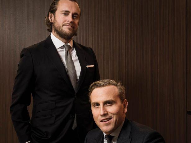 Dustin Stolly and Jordan Roeschlaub