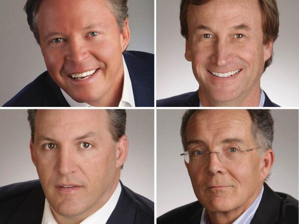 Warren de Haan, Boyd Fellows, Chris Tokarski and Stew Ward