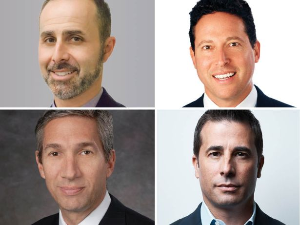 Gideon Gil, Dave Karson, Steve Kohn and Rob Rubano