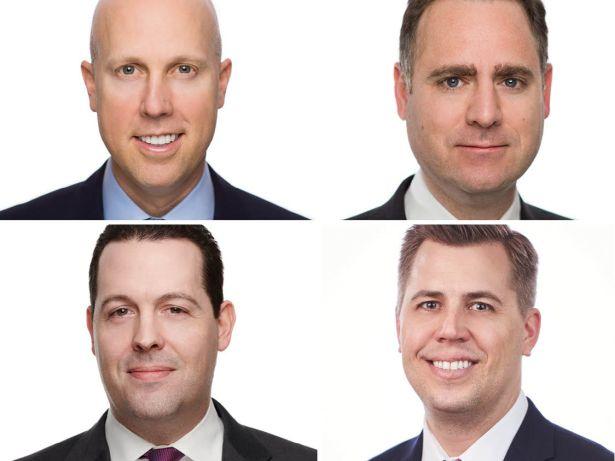 Patrick Mattson, Matt Salem, Rene Theriault, Joel Traut