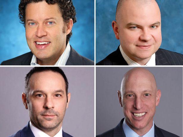 Simon Ziff, Patrick Hanlon, Jason Krane and Russell Schildkraut