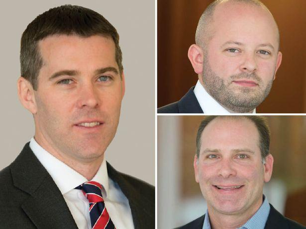 Dan Bennett, Jordan Bock and Brett Kaplan
