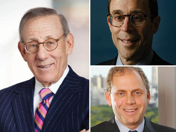 Stephen Ross, Jeff Blau and Bruce Beal