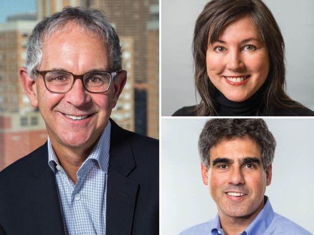 Ron Moelis, Lisa Gomez and David Dishy