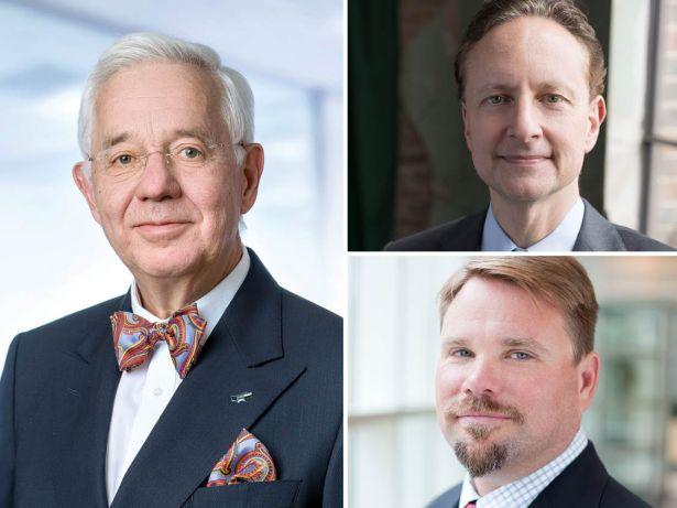 Christoph Kahl, Matt Bronfman and Michael Phillips