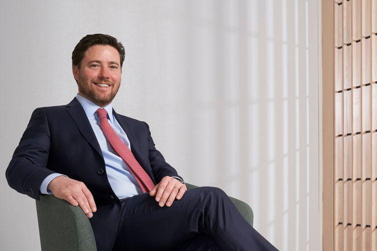 CIT Group's head of real estate finance, Chris Niederpruem.