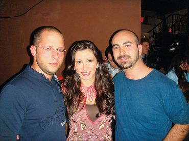 Rotem Rosen, Zina Sapir and Alex Sapir in 2008.